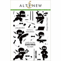 Altenew - Clear Photopolymer Stamps - Ninja Invasion