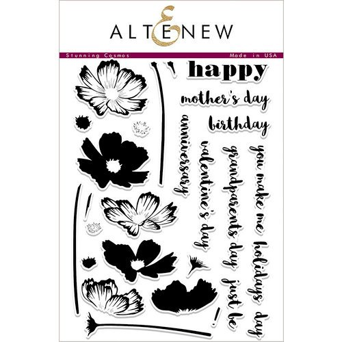 Altenew - Clear Photopolymer Stamps - Stunning Cosmos