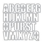 Altenew - Dies - Caps Bold Alphabet