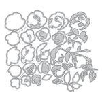 Altenew - Dies - Rose Flurries 3D
