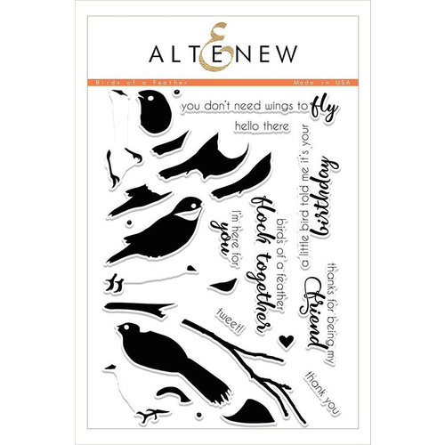 Altenew - Clear Photopolymer Stamps - Birds of a Feather