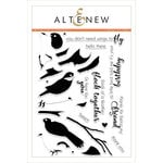 Altenew - Clear Acrylic Stamps - Birds of a Feather