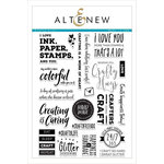 Altenew - Clear Acrylic Stamps - Crafty Life