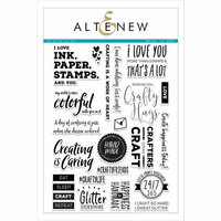 Altenew - Clear Photopolymer Stamps - Crafty Life