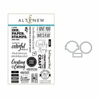 Altenew - Die and Clear Acrylic Stamp Set - Crafty Life