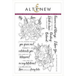 Altenew - Clear Acrylic Stamps - Forever and Always