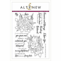 Altenew - Clear Photopolymer Stamps - Forever and Always
