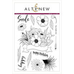 Altenew - Clear Photopolymer Stamps - Happy Bloom