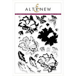 Altenew - Clear Acrylic Stamps - Ornamental Flower