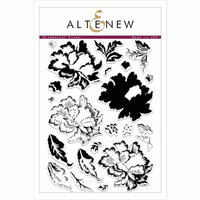 Altenew - Clear Photopolymer Stamps - Ornamental Flower