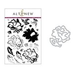 Altenew - Die and Clear Acrylic Stamp Set - Ornamental Flower