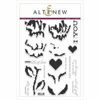 Altenew - Clear Photopolymer Stamps - Sewn with Love