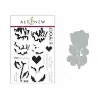 Altenew - Die and Clear Acrylic Stamp Set - Sewn with Love
