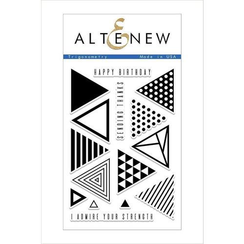 Altenew - Clear Photopolymer Stamps - Trigonometry
