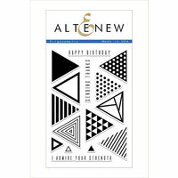 Altenew - Clear Photopolymer Stamps - Trigonometry
