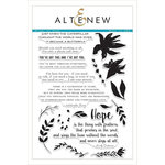 Altenew - Clear Acrylic Stamps - Wings of Hope