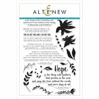 Altenew - Clear Photopolymer Stamps - Wings of Hope