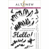 Altenew - Clear Photopolymer Stamps - Cross Stitch Flower