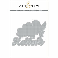 Altenew - Dies - Cross Stitch Flower