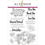 Altenew - Clear Acrylic Stamps - Dearest Friend