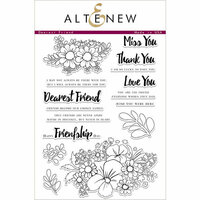 Altenew - Clear Photopolymer Stamps - Dearest Friend