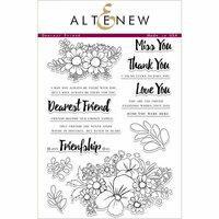Altenew - Clear Photopolymer Stamps - Dearest Friend