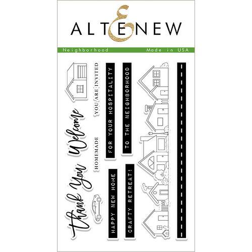 Altenew - Clear Photopolymer Stamps - Neighborhood