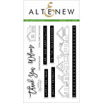 Altenew - Clear Acrylic Stamps - Neighborhood