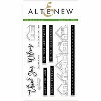 Altenew - Clear Photopolymer Stamps - Neighborhood