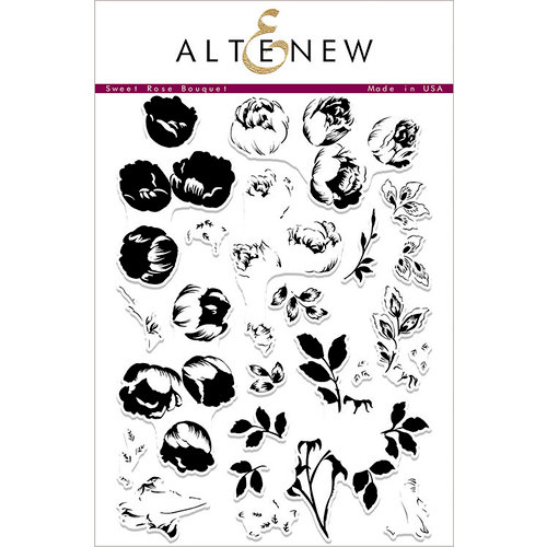 Altenew - Clear Photopolymer Stamps - Sweet Rose Bouquet