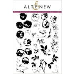 Altenew - Clear Acrylic Stamps - Sweet Rose Bouquet