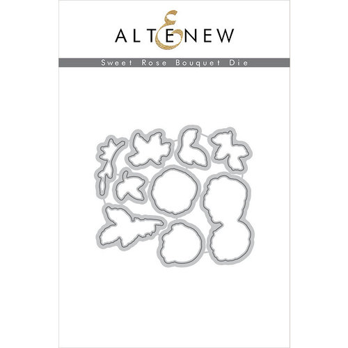 Altenew - Dies - Sweet Rose Bouquet