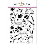 Altenew - Clear Photopolymer Stamps - Wildflower Garden