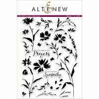 Altenew - Clear Photopolymer Stamps - Wildflower Garden