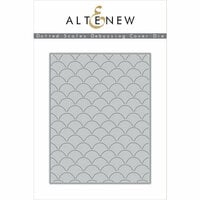 Altenew - Dies - Dotted Scales Debossing Cover