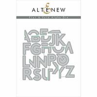 Altenew - Dies - Flat and Fold Alpha