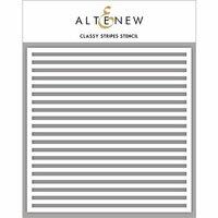Altenew - Stencil - Classy Stripes