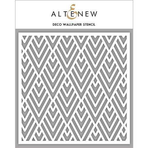 Altenew - Stencil - Deco Wallpaper
