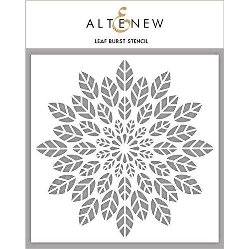 Altenew - Stencil - Leaf Burst
