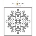Altenew - Stencil - Leaf Burst