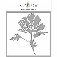 Altenew - Stencil - Poppy Bloom