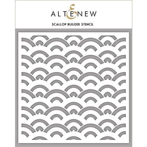 Altenew - Stencil - Scallop Builder