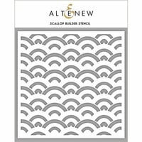 Altenew - Stencil - Scallop Builder