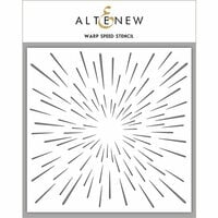 Altenew - Stencil - Warp Speed