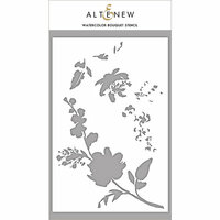 Altenew - Stencil - Watercolor Bouquet