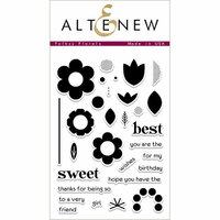 Altenew - Clear Photopolymer Stamps - Folksy Florals