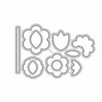 Altenew - Dies - Folksy Florals