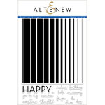 Altenew - Clear Acrylic Stamps - Gradient Stripes