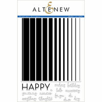 Altenew - Clear Photopolymer Stamps - Gradient Stripes