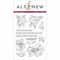 Altenew - Clear Photopolymer Stamps - Happy Heart
